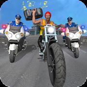 سوبر ماركت الشرطة دراجة نارية سرقة العصابات تشيس APK
