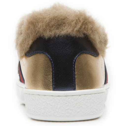 Thumbnail images of Gucci Faux Fur Kid Trainer
