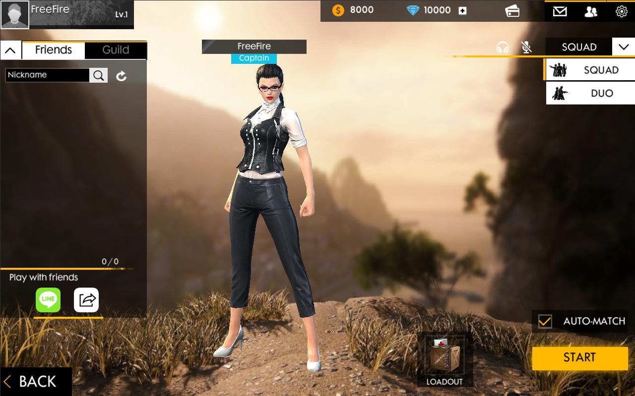 Garena Free Fire Online Play