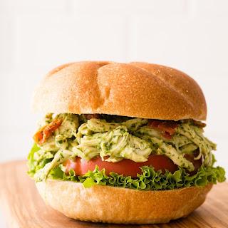 The Best Pesto Chicken Salad.