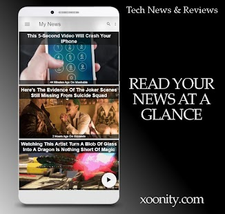 Tech News & Reviews - Technology News By Xoonity - náhled