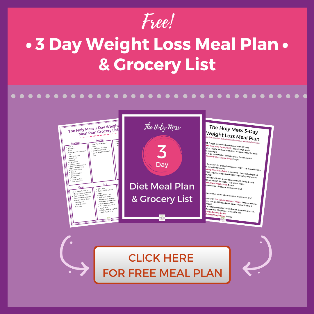 3 day meal plan click here