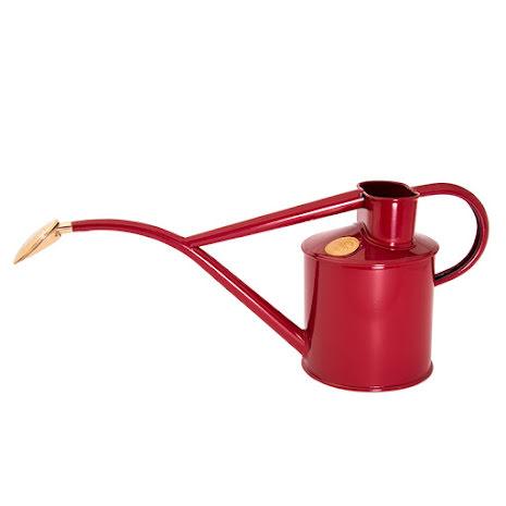 HAWS vattenkanna, pulverlackad, röd, 1 L