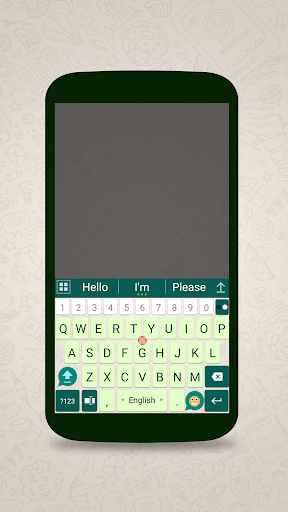 ai.keyboard theme for WhatsApp 5.0.3 screenshots 1