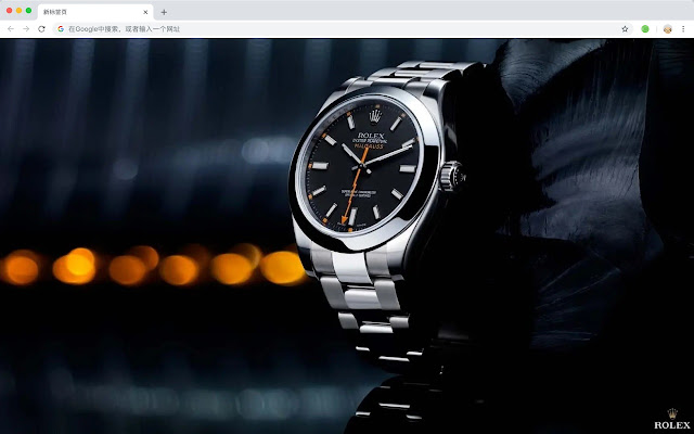 Rolex Watch HD Wallpapers New Tabs Theme
