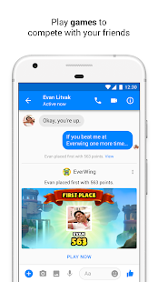 Download Messenger – Text and Video Chat for Free For PC Windows and Mac apk screenshot 5
