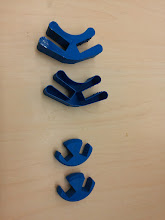 Photo: 5 generations to successful upright 5x8 triangle clips.
