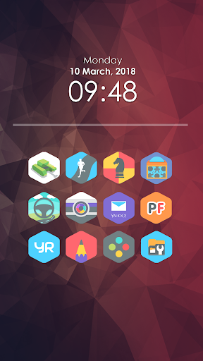 Fivo - Icon Pack Apps para Android screenshot
