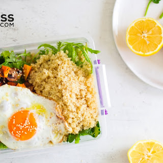 Healthy Packed Lunch Idea - Quick & Easy to-Go Lunch Recipe