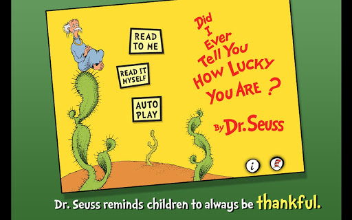 How Lucky You Are - Dr. Seuss