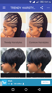 TRENDY HAIRSTYLES & CARE - náhled