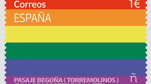 Sello LGTBI: Correos celebra el Orgullo con su primer sello arcoiris