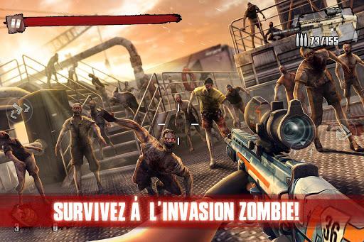 Zombie Frontier 3: Jeu de Tir  captures d'écran 3