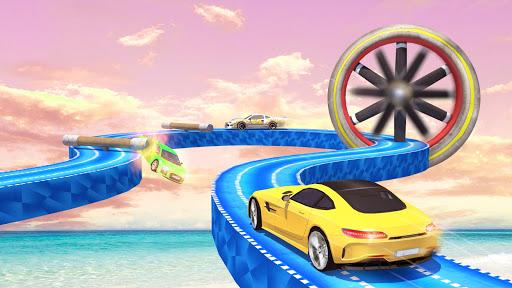 Mega Ramp Car Stunts Racing : Impossible Tracks 3D android2mod screenshots 3
