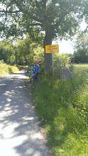 """Photo: """"Vejen snerydes ikke"""". Tak for info. Det viste sig, at være fordi vejen gik over i en GRUSvej ...."""