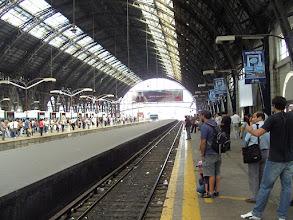Photo: Train to Tigre delta