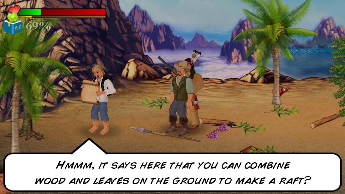 Wrecked (Island Survival Sim) screenshot 1