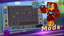 screenshot of Master for Minecraft(Pocket Edition)-Mod Launcher
