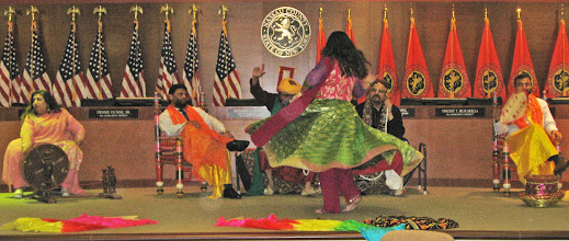 Photo: my dance performance at the Asian American Heritage Celbration 2017 at Theodore Roosevelt Executive and Legislative Building, NY
