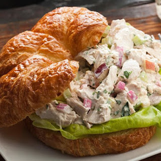 Weight Watchers Tarragon Chicken Salad with Orange Mayonnaise