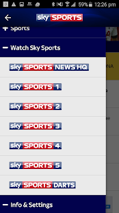 Sky Sports- screenshot thumbnail