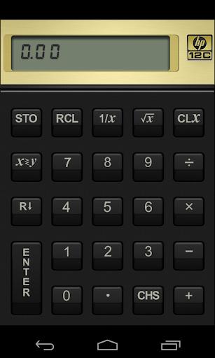 HP 12c Financial Calculator screenshot