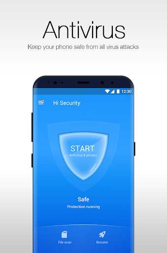 Hi Security 2019 - Junk Clean, Antivirus, Booster 2.9.9.841 screenshots 2