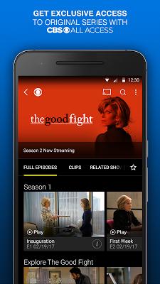 CBS - Full Episodes & Live TV - screenshot