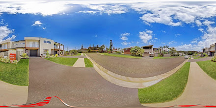 Photo: Street View - Luxury Ocean Townhouse - Wesley Avenue www.escapeatnobbys.com.au
