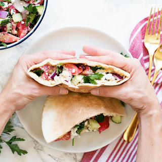 Mediterranean Pita Pockets Recipe + Video