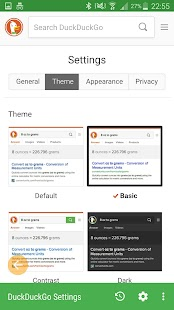 xPrivate Browser - náhled