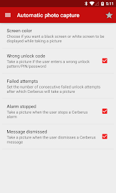 Cerberus anti theft Screenshot 4