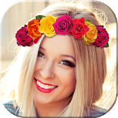 Flower Crown Selfie Camera