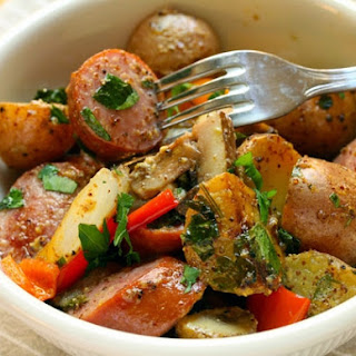 Sausage And Potato Skillet Supper