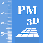 Partometer3D相機措施3D icon