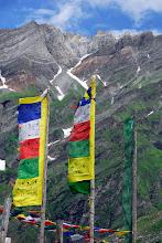 Photo: banderes d'oració