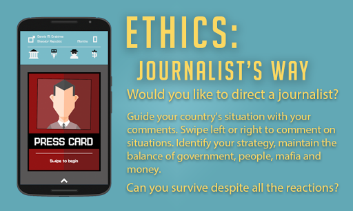 Screenshot for Ethics: Journalist's Way in United States Play Store