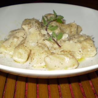 Home-Made Gnocchi W/ Cheese Sauce