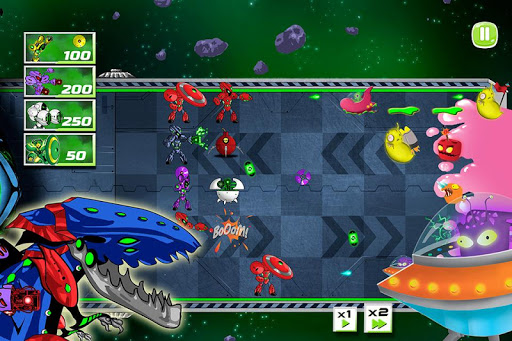 Super Fighting Robots Defense  screenshots 4