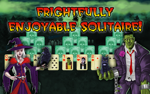Halloween Tri-peaks Solitaire  screenshots 4
