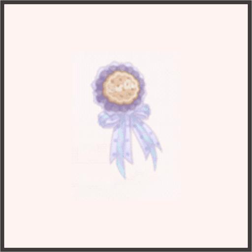 クッキーブローチ-夢