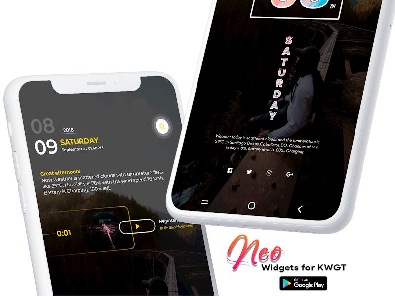Neo Widgets for KWGT Screenshot 3
