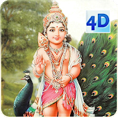 4D Lord Murugan Live Wallpaper