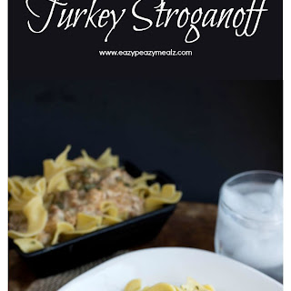 Not-Too Spicy Turkey Stroganoff