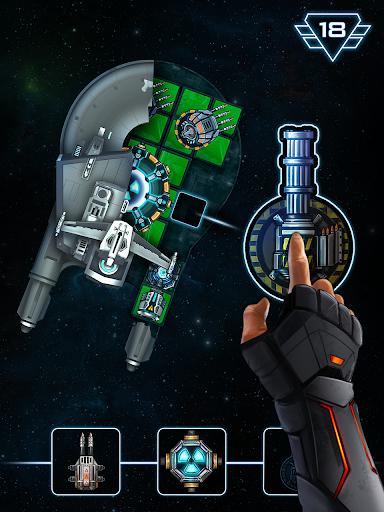 Space Arena: Build & Fight screenshot