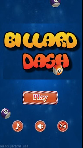 Billard Dash
