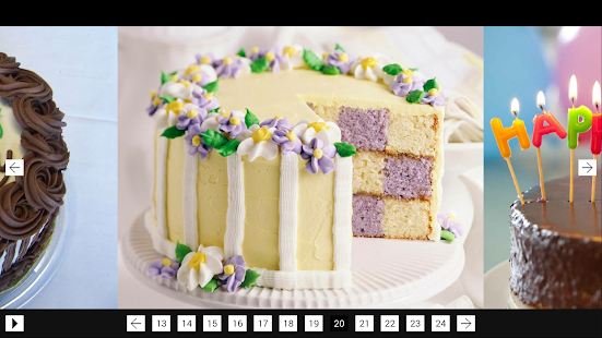 Happy Birthday Cakes screenshot