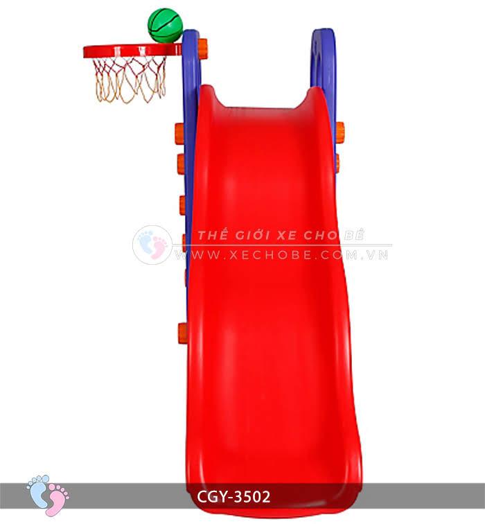 Cầu trượt bóng rổ cho bé YGC-3502 7