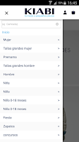 Screenshot of KIABI Español