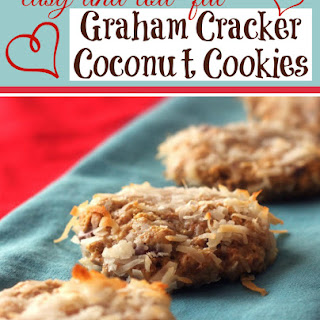 Graham Cracker Coconut Cookies (Low-Calorie)